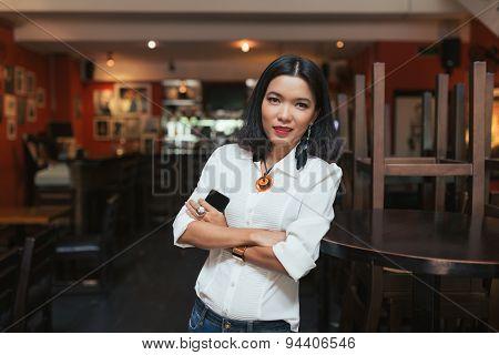 Asian bar owner