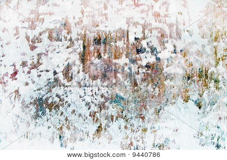 Old Time Grunge Background Wall Closeup