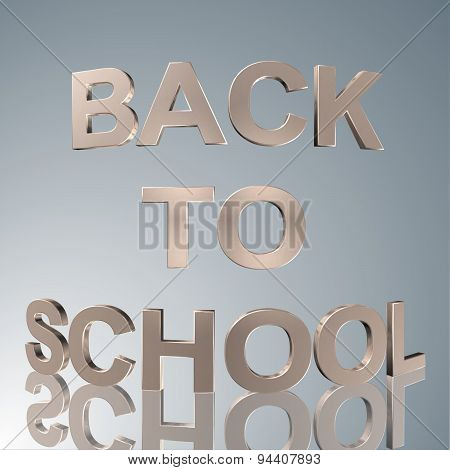 3D Text  Back To School