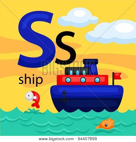 S for Ship