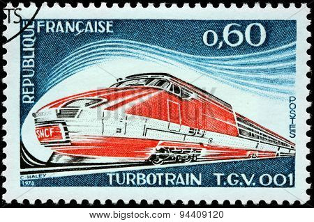 Turbotrain Stamp