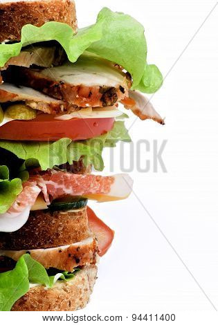 Turkey Meat Sandwich