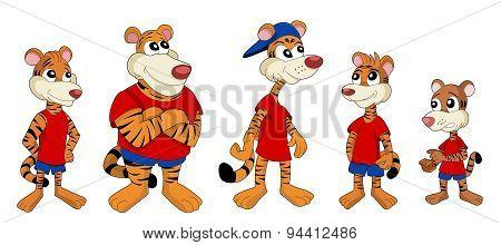 Tiger Cartoons