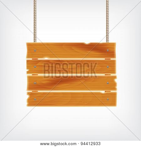 Wooden plank