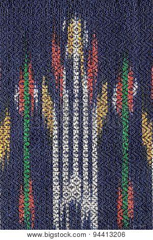 Woven fabrics Thai texture