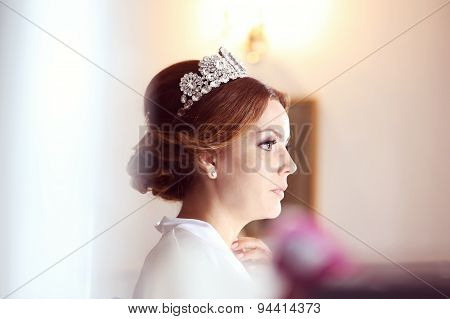 Beautiful Bride With Crown