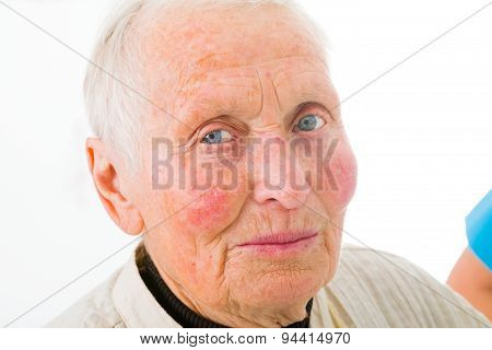 Elderly Woman Portrait