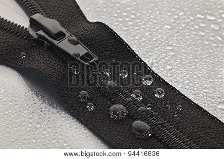 Black Zipper