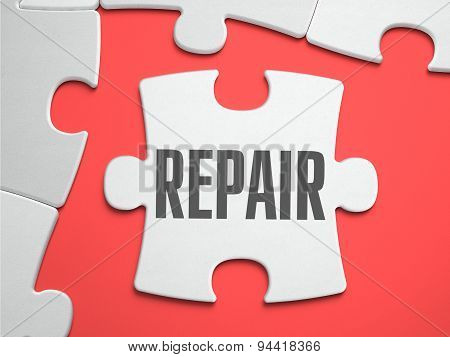 Repair - Puzzle on the Place of Missing Pieces.