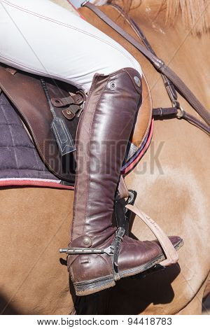 Horse Rider Boot Details