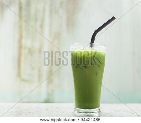 Ice Milk Green Tea, Famous Drink