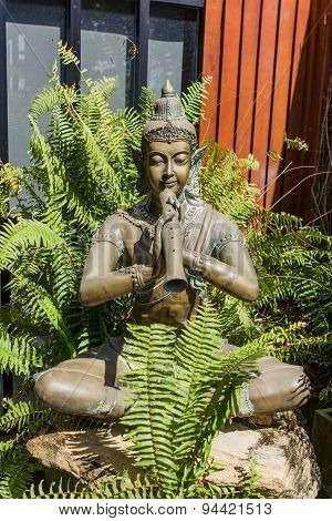 Thai Garden Sculpture.