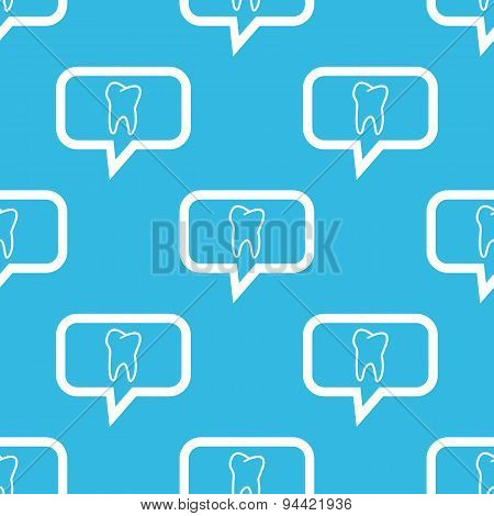 Tooth message pattern