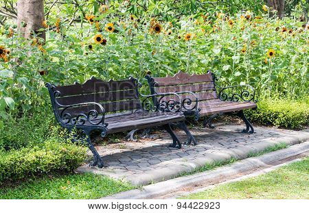 Twin Bench