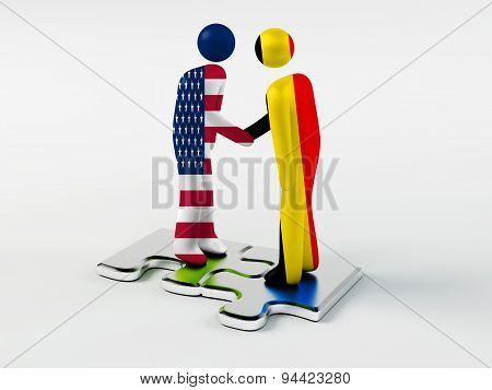 Business Partners Belgium and United States