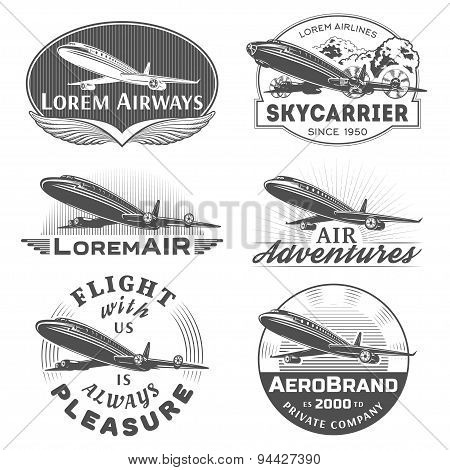 Air badges
