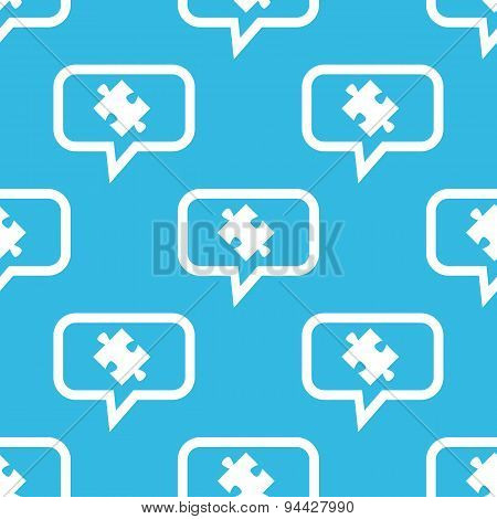Puzzle message pattern