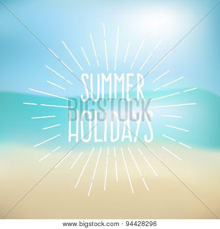 Retro Summer Holidays