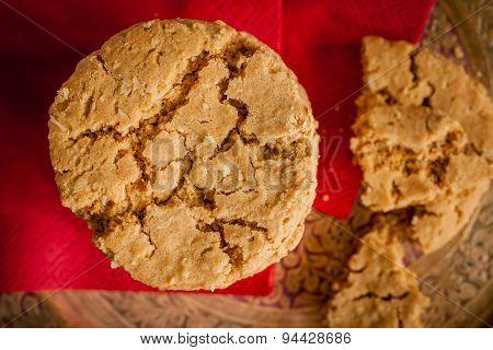 Treacle Or Molasses Cookies