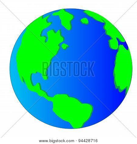 Planet land