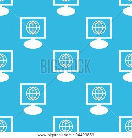 Globe monitor pattern