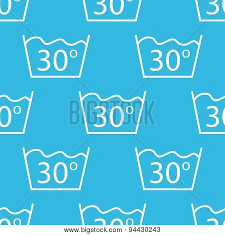 30 degrees wash pattern