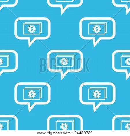 Dollar bill message pattern