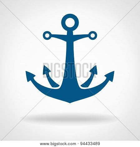 anchor vector  - symbol