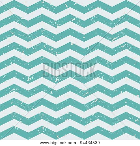 ZigZag Chevron Pattern. Grey and blue vector background