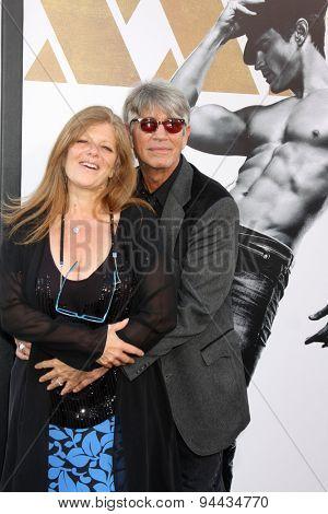 LOS ANGELES - JUN 25:  Eliza Roberts, Eric Roberts at the