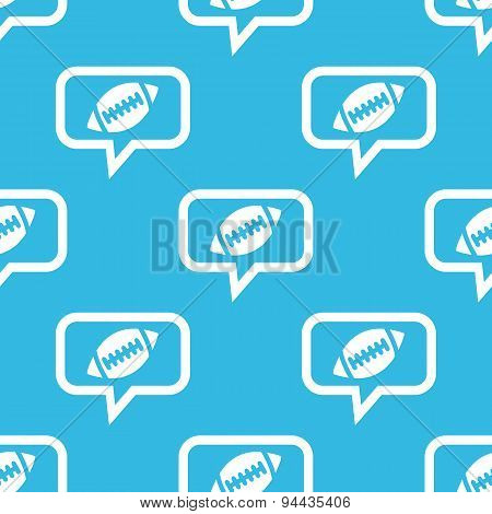 Rugby message pattern