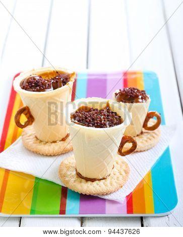 Edible Teacup Cookies