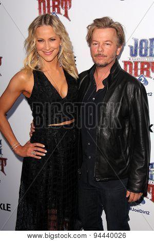 LOS ANGELES - JUN 24:  Brittany Daniel, David Spade at the