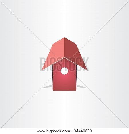 Bird House Symbol Design