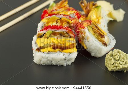 Shrimp Tempura Sushi Roll