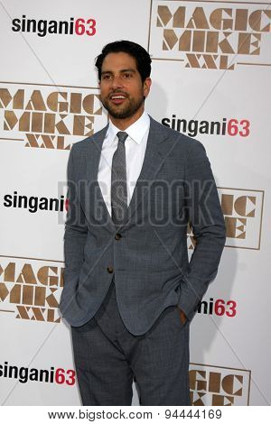 LOS ANGELES - JUN 25:  Adam Rodriguez at the