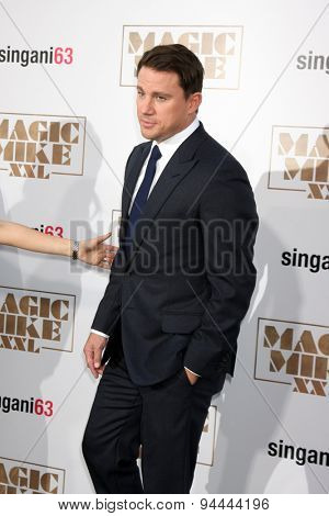 LOS ANGELES - JUN 25:  Channing Tatum at the