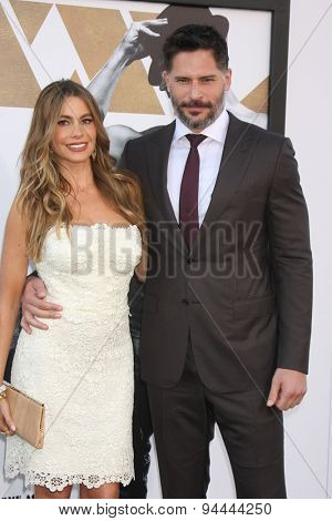 LOS ANGELES - JUN 25:  Sofia Vergara, Joe Manganiello at the