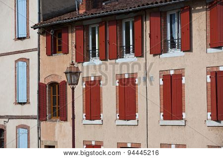 Old House Facade In France
