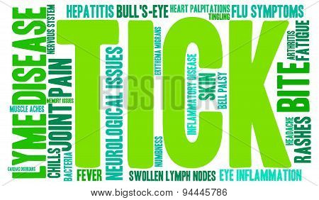 Tick Word Cloud