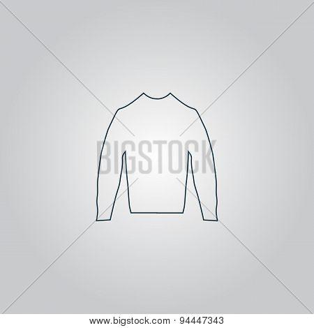 Clothing sweater Pictogram