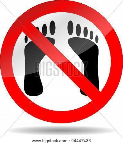 Ban Foot Print