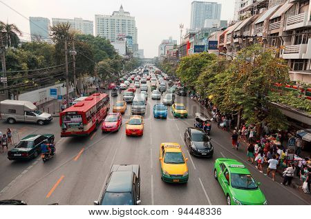 Public Transport In Bangkok, Thailand