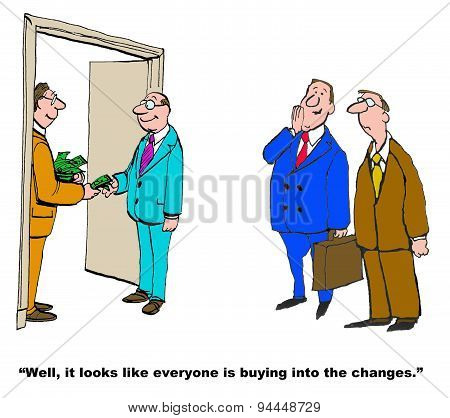 Buying Into Changes