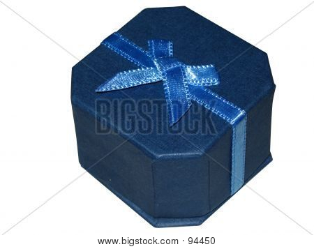 Blue Jewellery Gift Box