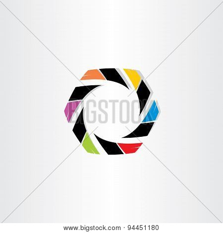 Abstract Hexagon Business Icon