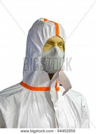 Mannequin In Protective Clothing