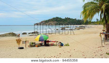 Souvenir Shop On Ngapali Beach