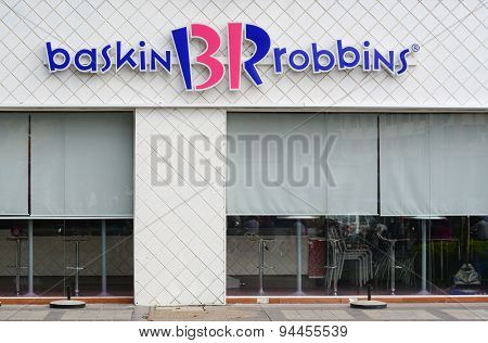 Baskin Robins Ice-cream Shop In Saigon, Vietnam
