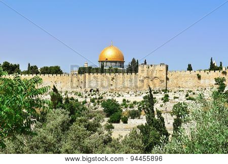 Al-aqsa Mosque And Golden Dome Of The Rock, Jerusalem